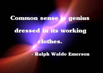 Common Sense and Fun: Common Sense Quotes for Facebook status