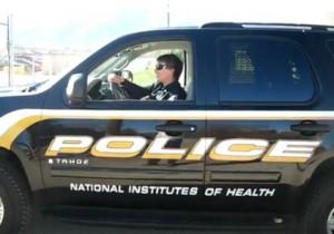 nih police van